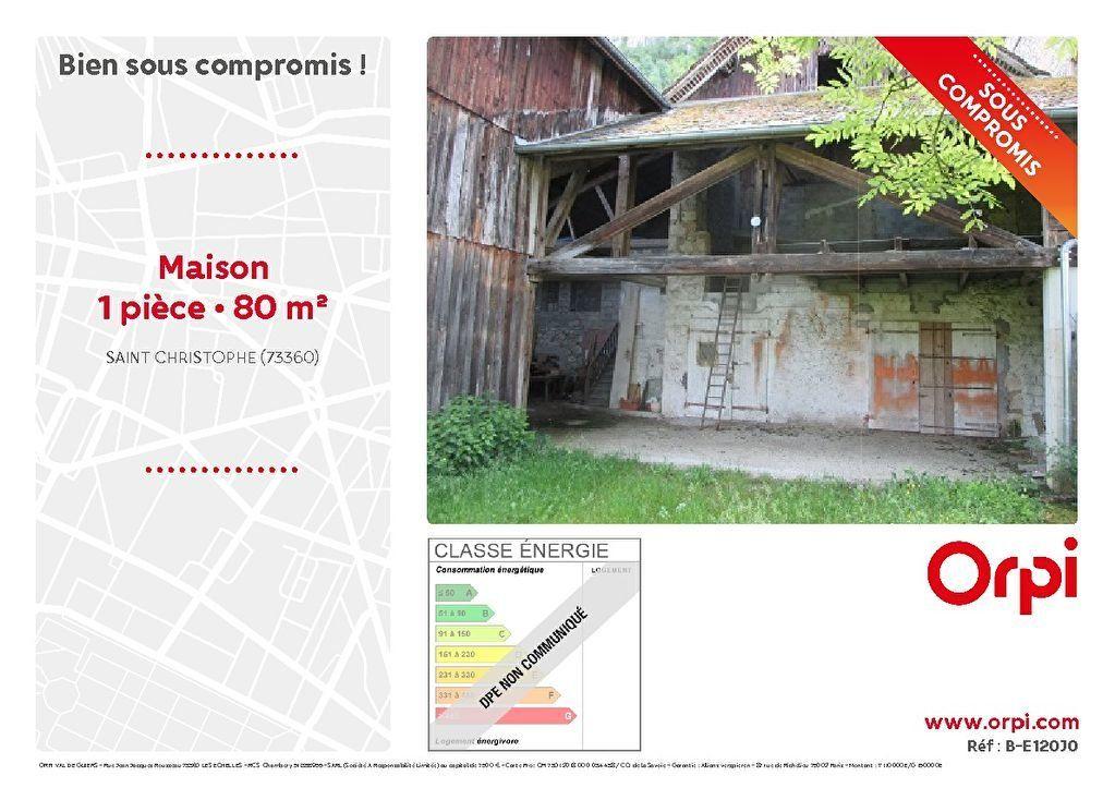 Maison à vendre 1 80m2 à Saint-Christophe vignette-1