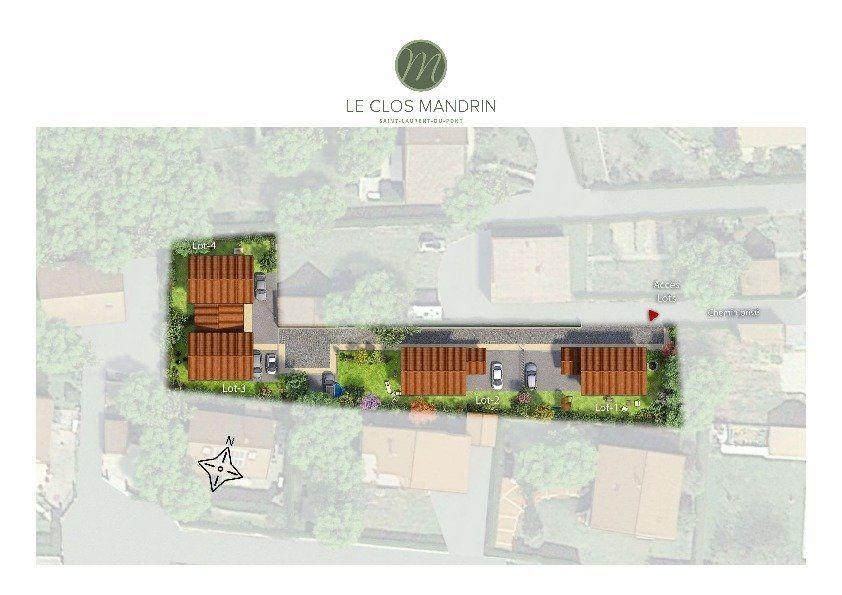 Maison à vendre 4 92.97m2 à Saint-Laurent-du-Pont vignette-1