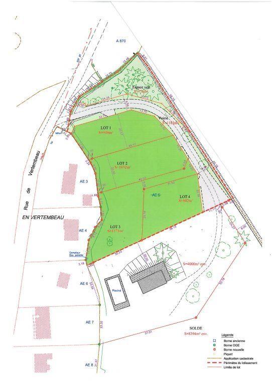Terrain à vendre 0 1032m2 à Châtenoy-en-Bresse vignette-1