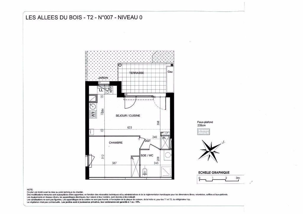 Appartement à louer 2 39.2m2 à Balma vignette-4
