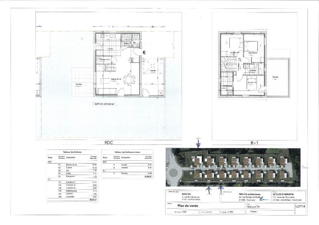 Maison à louer 4 88.58m2 à Rouffiac-Tolosan vignette-6
