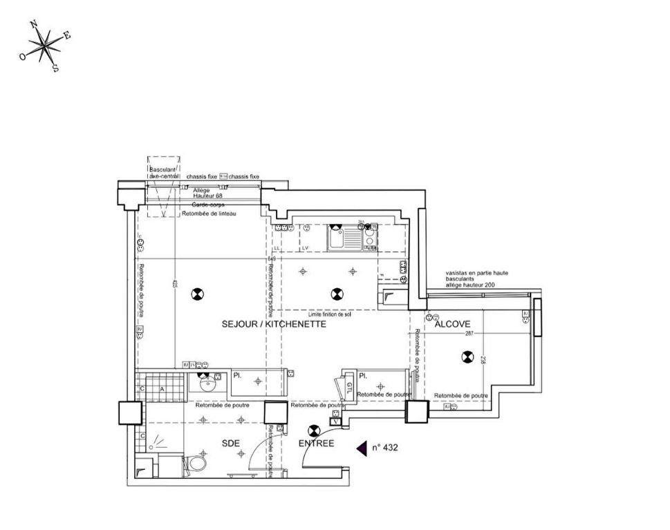 Appartement à vendre 1 42.44m2 à Paris 14 vignette-5