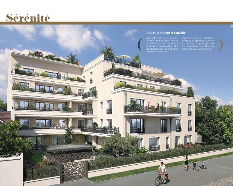 Appartement à vendre 3 68.34m2 à La Varenne - Saint-Maur-des-Fossés vignette-1