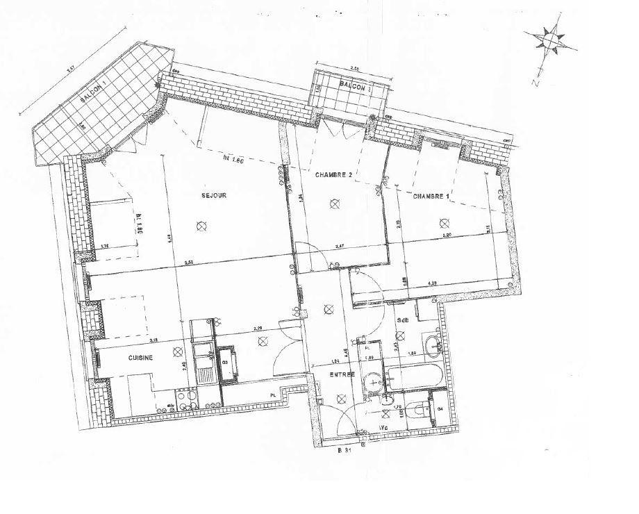 Appartement à louer 3 63.2m2 à Villiers-sur-Marne vignette-7
