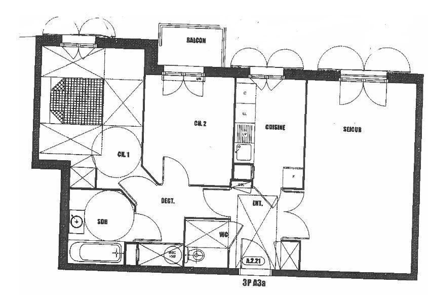 Appartement à louer 3 61.91m2 à Villiers-sur-Marne vignette-9