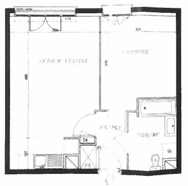 Appartement à louer 2 40.45m2 à Villiers-sur-Marne vignette-6