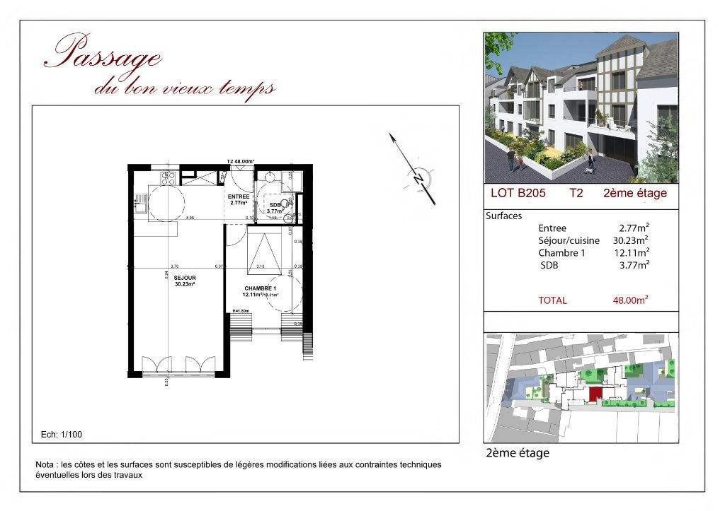 Appartement à vendre 2 48.88m2 à Villiers-sur-Marne vignette-3