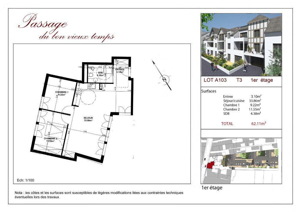 Appartement à vendre 3 62.11m2 à Villiers-sur-Marne vignette-2
