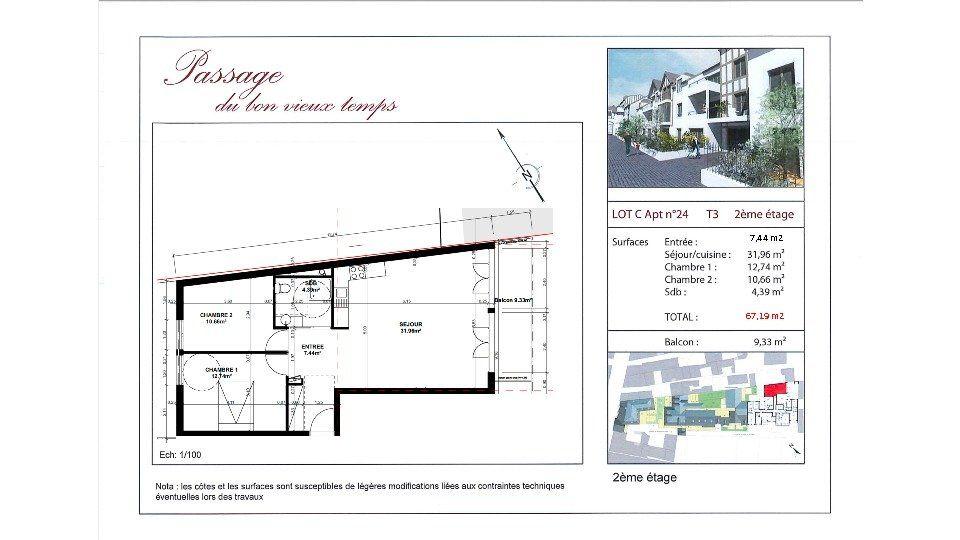 Appartement à vendre 3 67.19m2 à Villiers-sur-Marne vignette-3