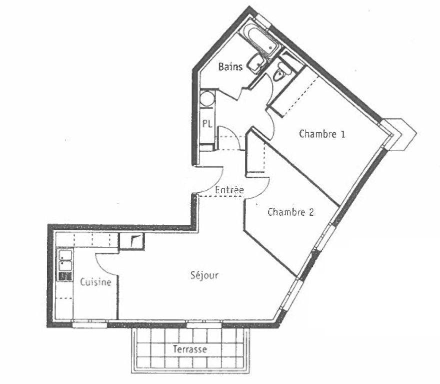 Appartement à louer 3 58.25m2 à Gournay-sur-Marne vignette-12
