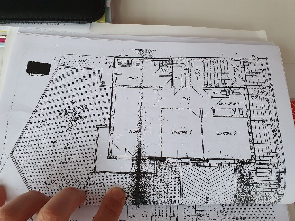 Appartement à vendre 3 69.86m2 à Saint-Maur-des-Fossés plan-1