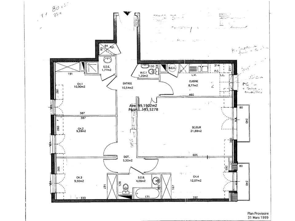 Appartement à vendre 5 95m2 à Villiers-sur-Marne vignette-1