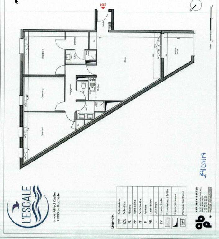 Appartement à vendre 4 83.46m2 à La Rochelle plan-1