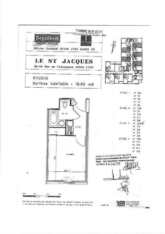 Appartement à vendre 1 18.3m2 à Lyon 3 vignette-2