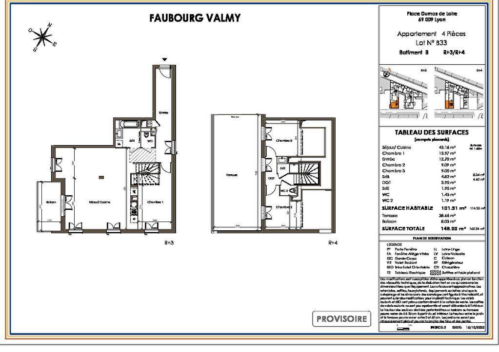 Appartement à vendre 4 101m2 à Lyon 9 vignette-1