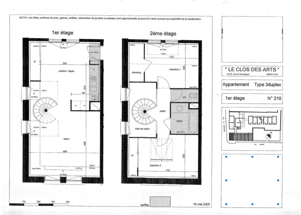 Appartement à vendre 3 64m2 à Lyon 9 vignette-1