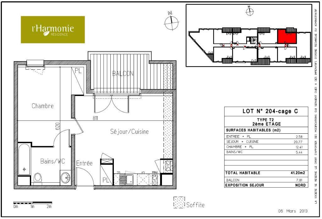 Appartement à louer 2 41.2m2 à Toulouse vignette-5