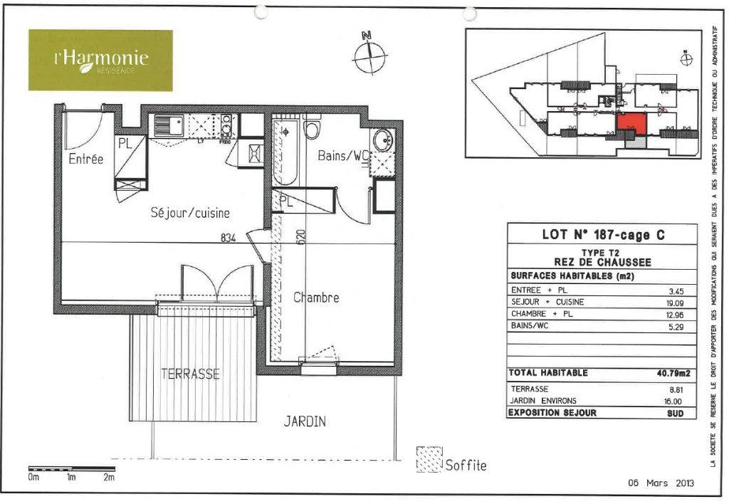 Appartement à louer 2 40.79m2 à Toulouse vignette-6