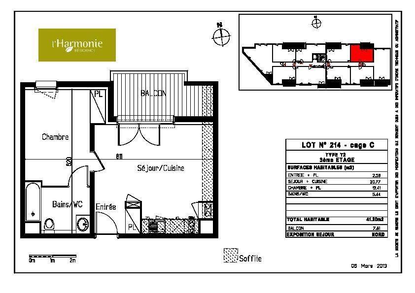 Appartement à louer 2 41.2m2 à Toulouse vignette-8