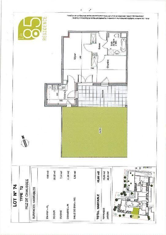 Appartement à louer 2 49.6m2 à Toulouse vignette-5