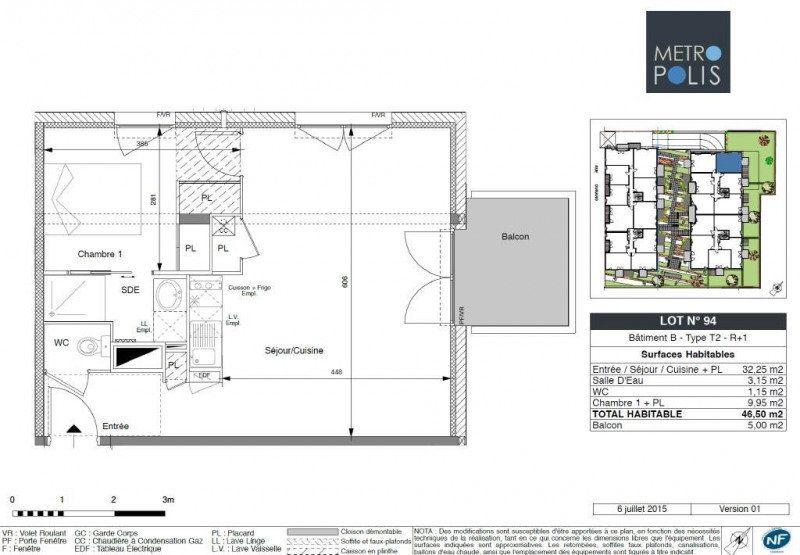 Appartement à louer 2 47m2 à Toulouse vignette-3