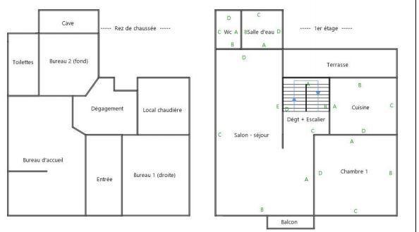 Immeuble à vendre 0 193m2 à Jouy-le-Châtel plan-2