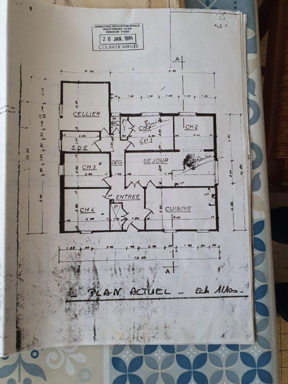 Maison à vendre 5 142m2 à Castelnau-d'Auzan plan-2