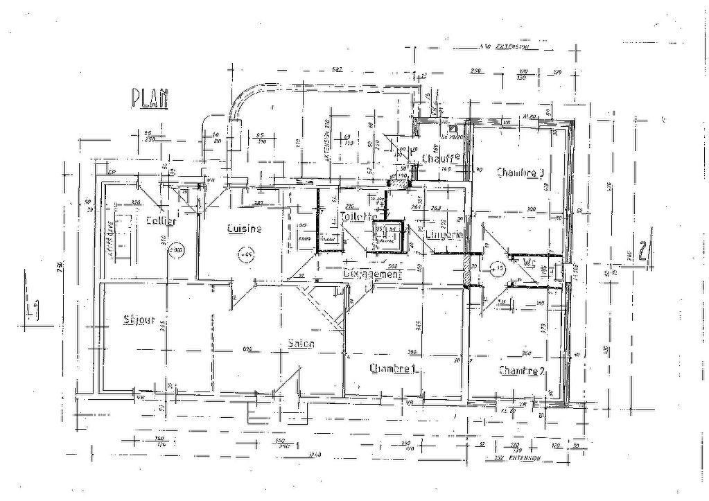 Maison à vendre 6 106.77m2 à Sarbazan plan-1
