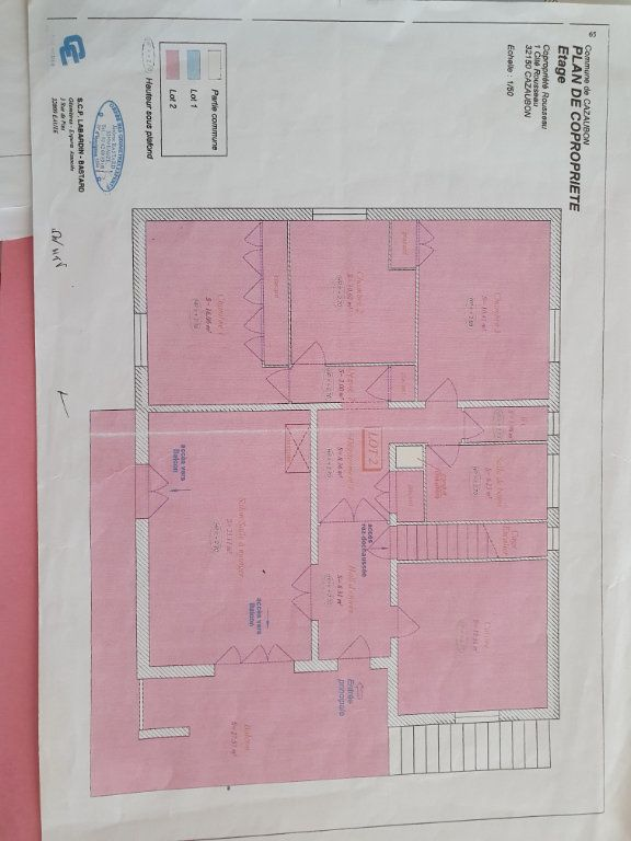 Maison à vendre 8 207m2 à Cazaubon plan-1