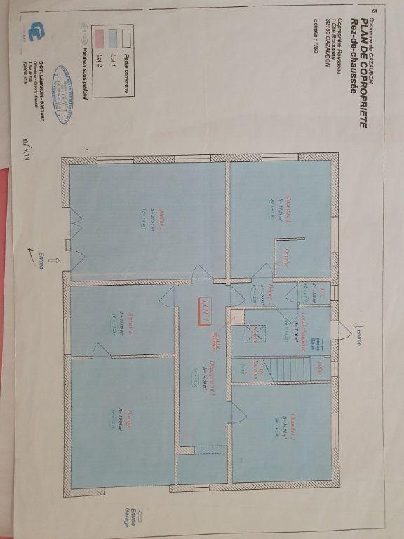 Maison à vendre 8 207m2 à Cazaubon plan-2