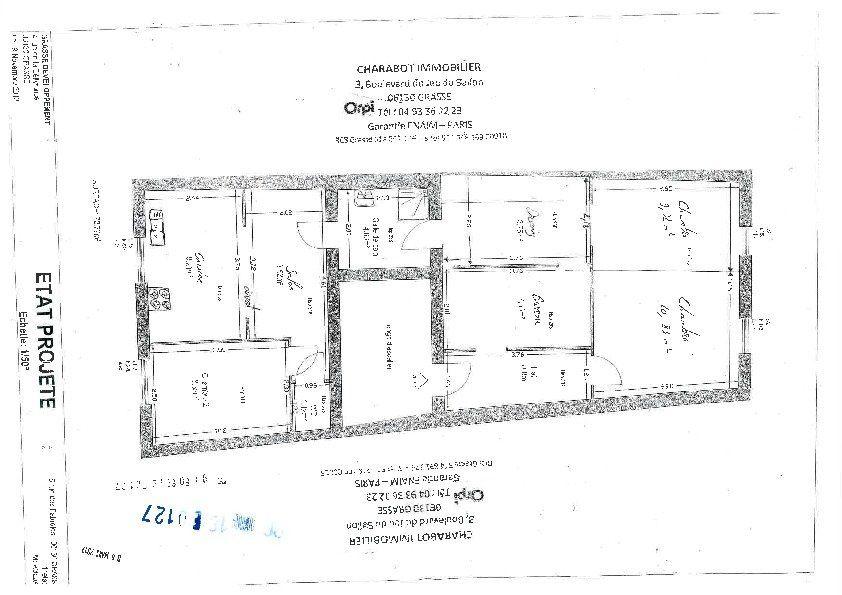 Appartement à vendre 4 70.5m2 à Grasse plan-1