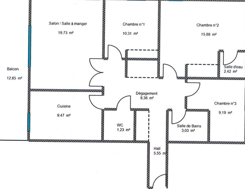 Appartement à vendre 4 85.17m2 à Grasse vignette-10