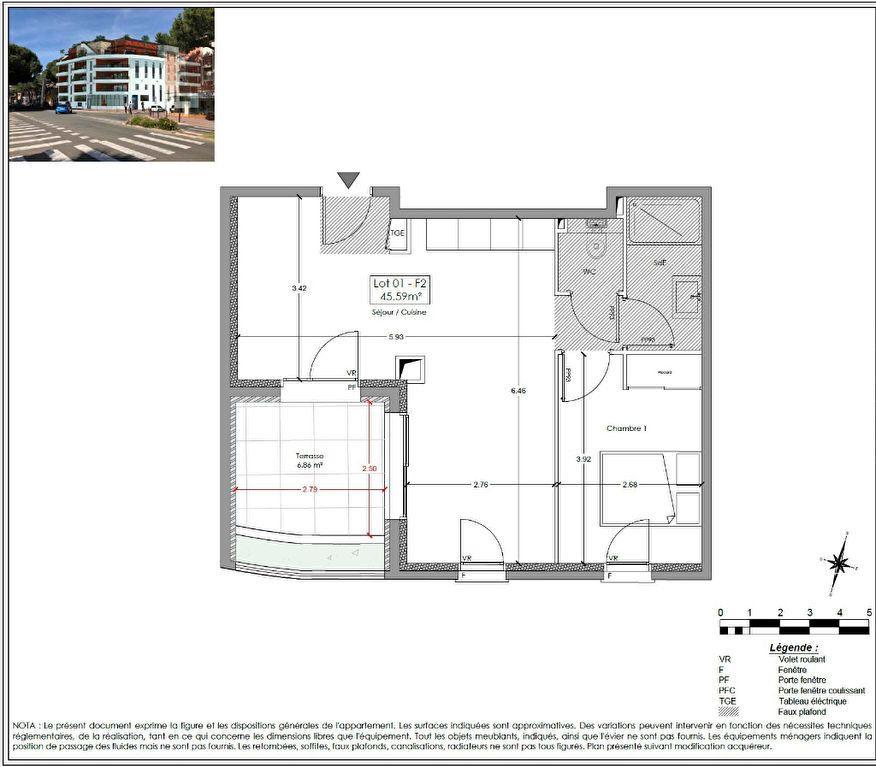 Appartement à vendre 4 86.25m2 à Fréjus vignette-2