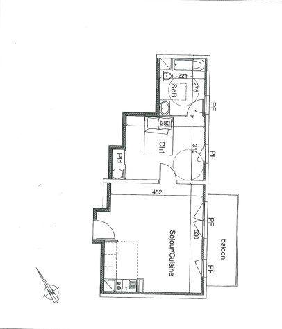 Appartement à vendre 2 43.42m2 à Montivilliers vignette-3