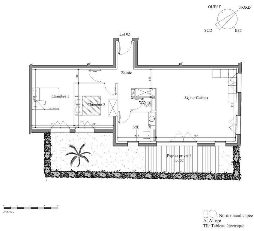 Appartement à vendre 3 73.86m2 à Houlgate vignette-4