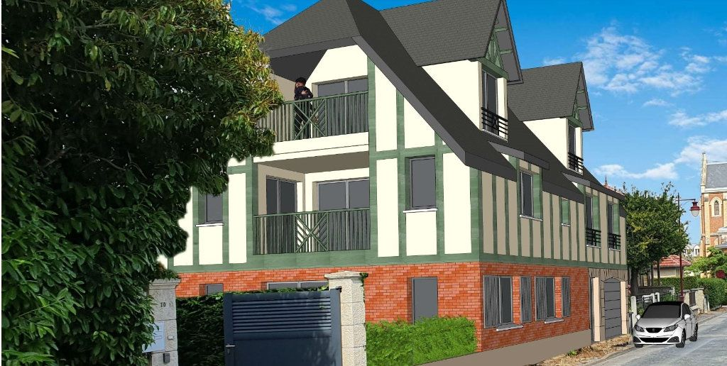 Appartement à vendre 4 80.08m2 à Houlgate vignette-1