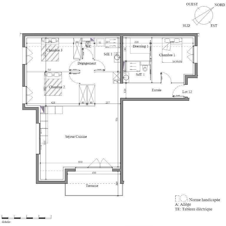 Appartement à vendre 4 80.08m2 à Houlgate vignette-3