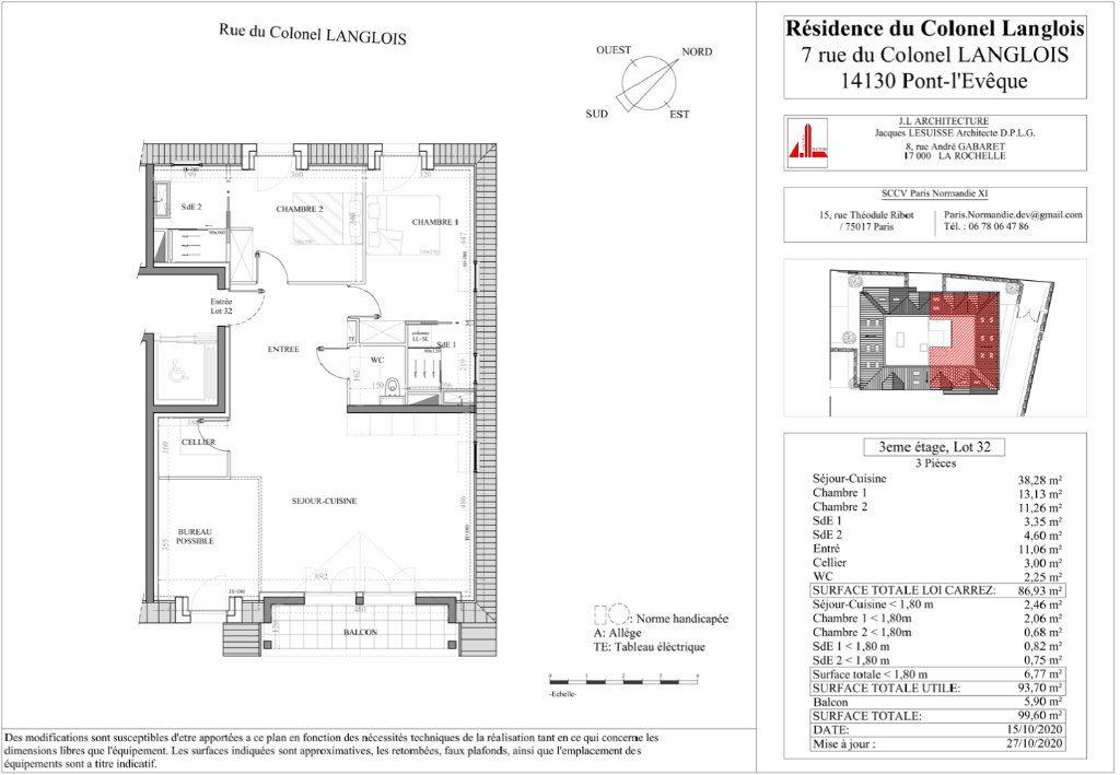 Appartement à vendre 3 77.36m2 à Pont-l'Évêque vignette-2