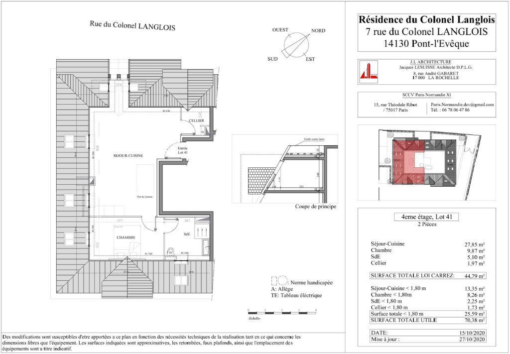 Appartement à vendre 2 44.79m2 à Pont-l'Évêque vignette-2