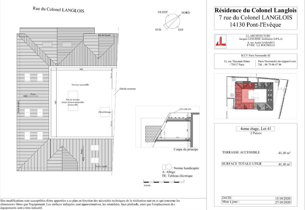 Appartement à vendre 2 44.79m2 à Pont-l'Évêque vignette-3