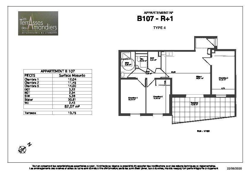 Appartement à vendre 4 82.07m2 à Manosque vignette-6