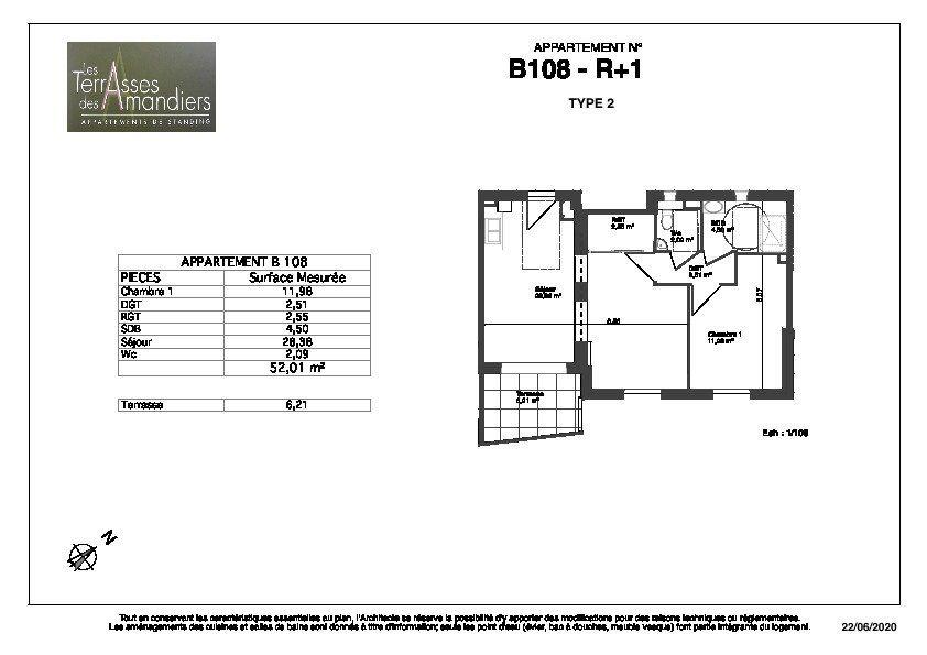 Appartement à vendre 2 52.01m2 à Manosque vignette-4