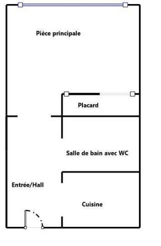 Appartement à vendre 1 23.74m2 à Aix-en-Provence vignette-4