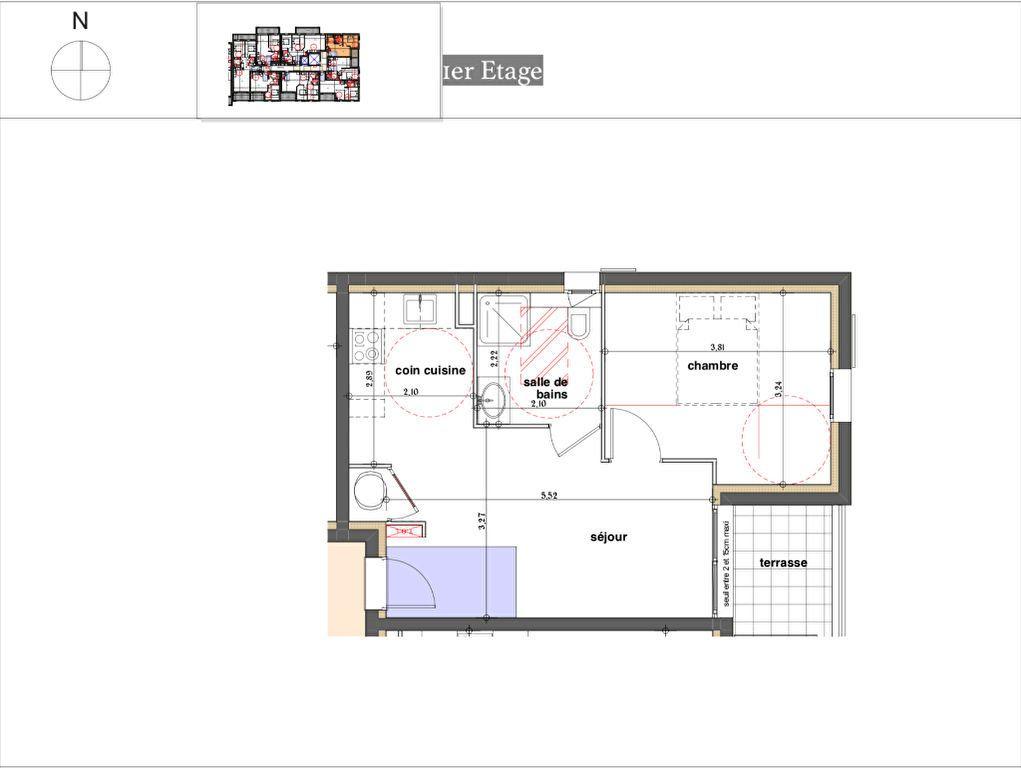 Appartement à vendre 2 49.61m2 à Rognes vignette-2