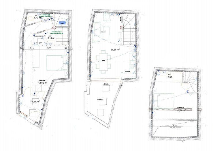 Maison à vendre 3 65m2 à Lambesc vignette-1