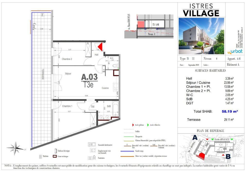 Appartement à louer 3 58.19m2 à Istres vignette-3