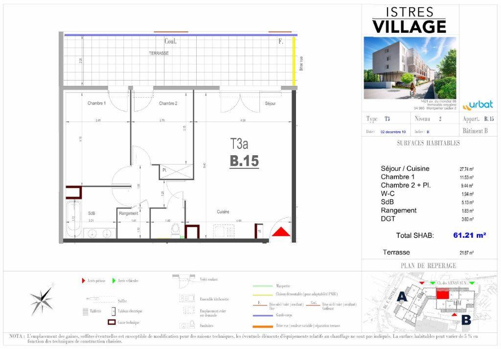 Appartement à louer 3 61.21m2 à Istres vignette-4