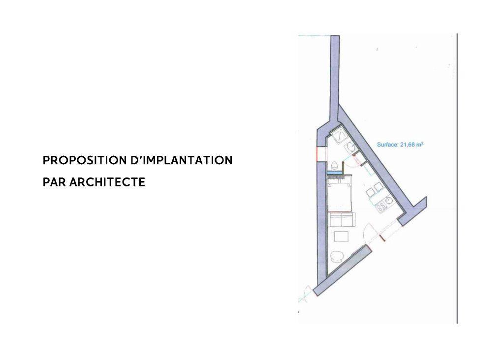 Appartement à vendre 1 21.68m2 à Le Coteau plan-1