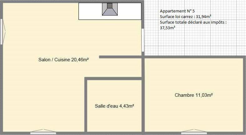 Appartement à louer 2 31.94m2 à Périgueux vignette-4