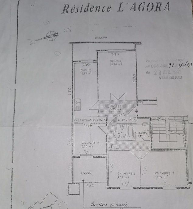 Appartement à vendre 4 93m2 à Pau vignette-8